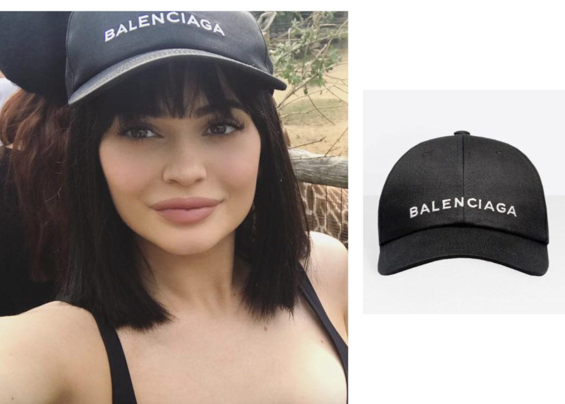 Shop Kylie Jenner's Balenciaga Hat