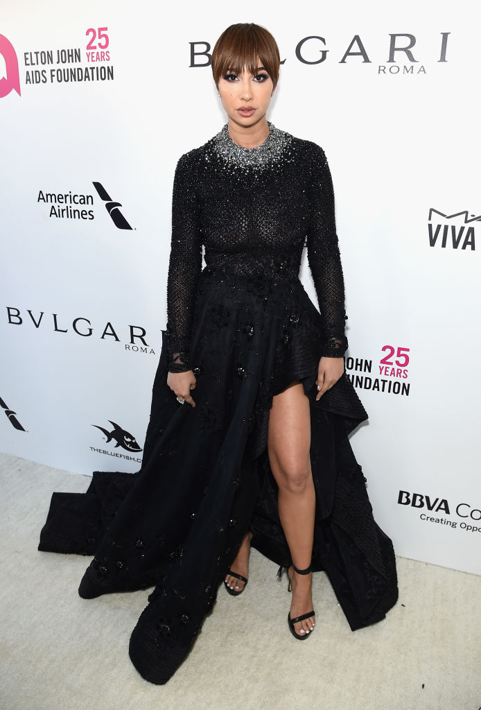 Best Dressed At The 2018 Elton John Aids Foundation S Academy Awards Viewing Party Angel City Style
