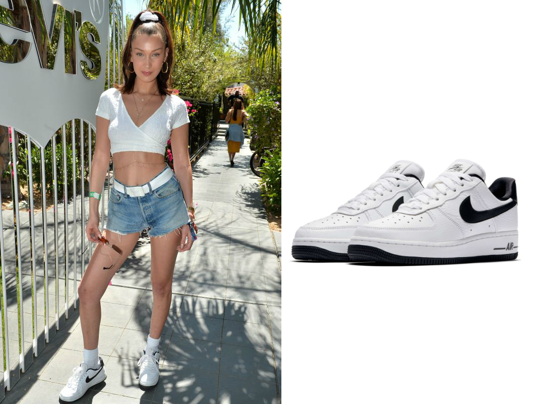Shoe Obsession: Bella Hadid's Nike Air Force 1 Sneakers