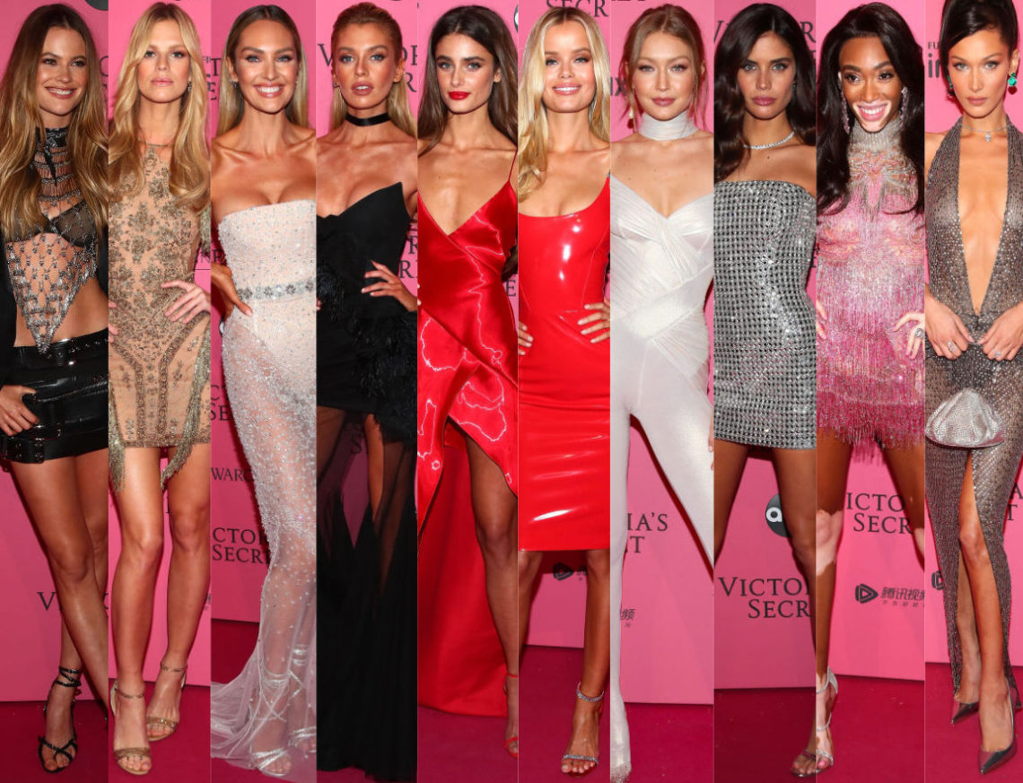 292c7eb7cfd The Sexiest Looks At The 2018 Victoria s Secret Fashion Show After Party –  Angel City Style